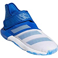 adidas Men's Harden B-E 3 Basketball White/Blue/Real Blue 10.5