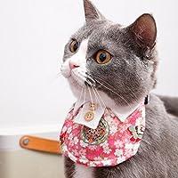 ペットの装飾猫の犬の三角タオルのビブスビブスのスカーフの写真の小道具ペット用品 (色 : D, サイズ さいず : Xs xs)