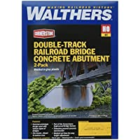 Walthers SceneMaster double-track Railroadブリッジコンクリートabutment 2 - Pack Train Collectable