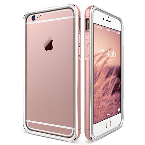 iPhone6s Plus / iPhone6 Plus バンパー VERUS IRON Bumper アルミ × TPU 2層構造 ハイブリッド バンパー for Apple iPhone 6s Plus / iPhone 6 Plus 5.5 インチ ローズゴールド / ホワイト 【国内正規品】 国内正規品証明書 付