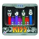 PEZ 限定版 KISS ケース入り 6キャンディ付き 並行輸入品
