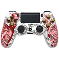 Bloody Hands Gold PS4 Custom Modded Controller Exclusive Design 35 Mods COD BO2, BO3, Advanced Warfare, Destiny, Ghosts Quick Scope Auto Run Sniper Breath and More by Playstation [並行輸入品]