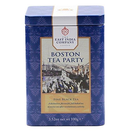 東インド会社 紅茶 ボストン・ティーパーティー 100g リーフティー