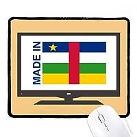 アフリカの共和国の愛で マウスパッド・ノンスリップゴムパッドのゲーム事務所