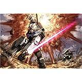 1000ピースジグソーパズルMobile Suit Gundam first combat ( 49x 72cm )