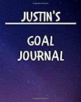Justin's Goal Journal: 2020 New Year Planner Goal Journal Gift for Justin  / Notebook / Diary / Unique Greeting Card Alternative