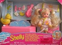 Barbie SHELLY (Kelly) Bathtime Fun Doll Set - Shelly Splashes In Her Bubbling Bath! (1995) [並行輸入品]