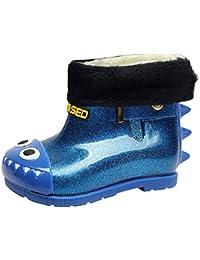 4ba3725b258e7 子供靴Regoss (レジス)キッズ レインブーツ レイン子供用 長靴 ハンドル レインブーツ キッズ ジュニア 男の子 女の子 雨靴 おしゃれ レインシューズ  滑り止め…