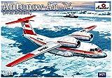 Aモデル 1/144 ロシア アントノフAn-74 極地輸送機 プラモデル AM1421 (メーカー初回受注限定生産)