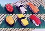 お寿司消しゴム(60入)  / お楽しみグッズ(紙風船)付きセット