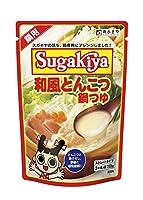 寿がきや SUGAKIYA和風とんこつ鍋つゆ 750g
