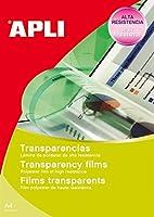 APLI インクジェットA4フォト用フィルムラベル 10枚 10290