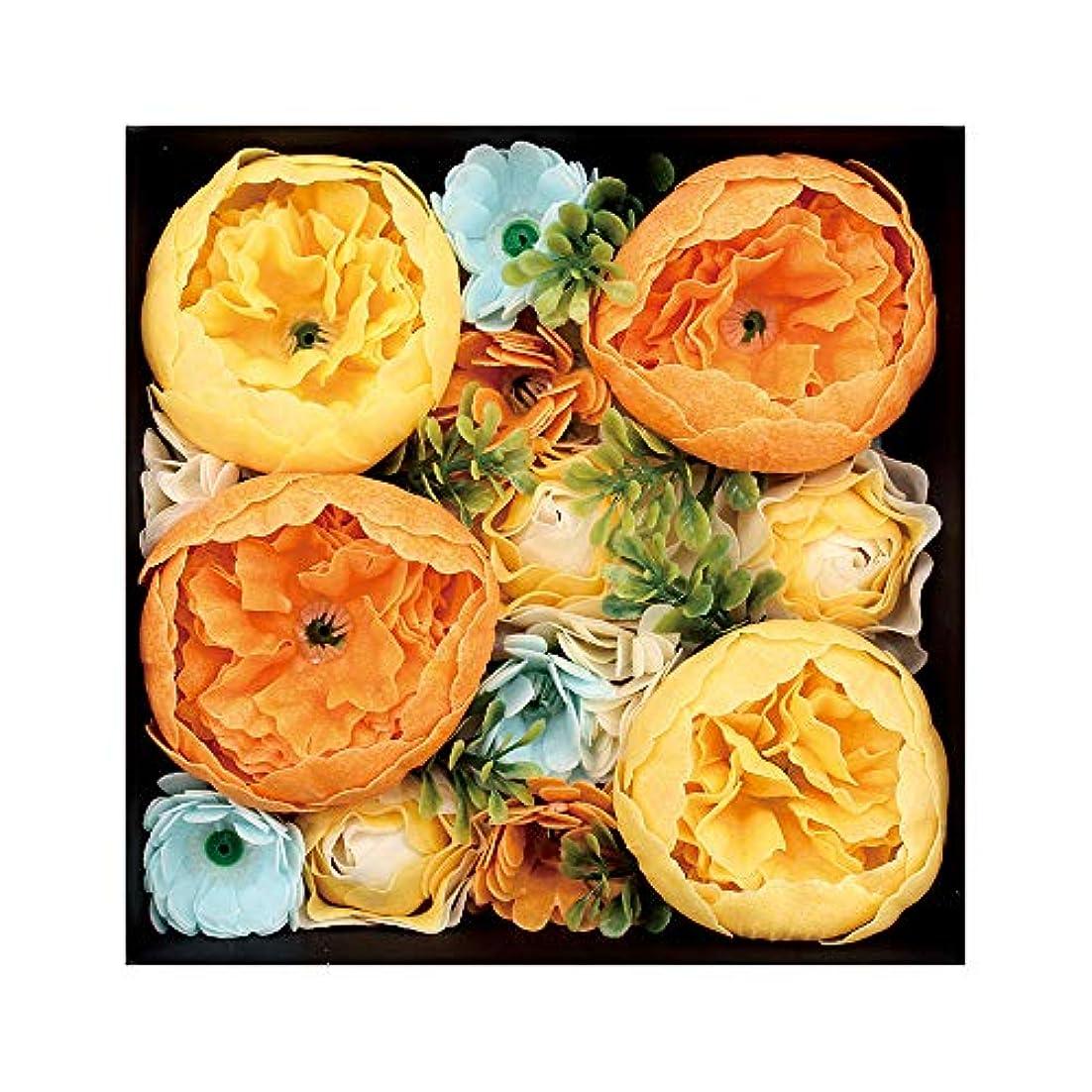 ハイランド許す無限ノルコーポレーション 入浴剤 シャンドフルール バスペタル 130g オレンジの香り シエル OB-EGN-1-4