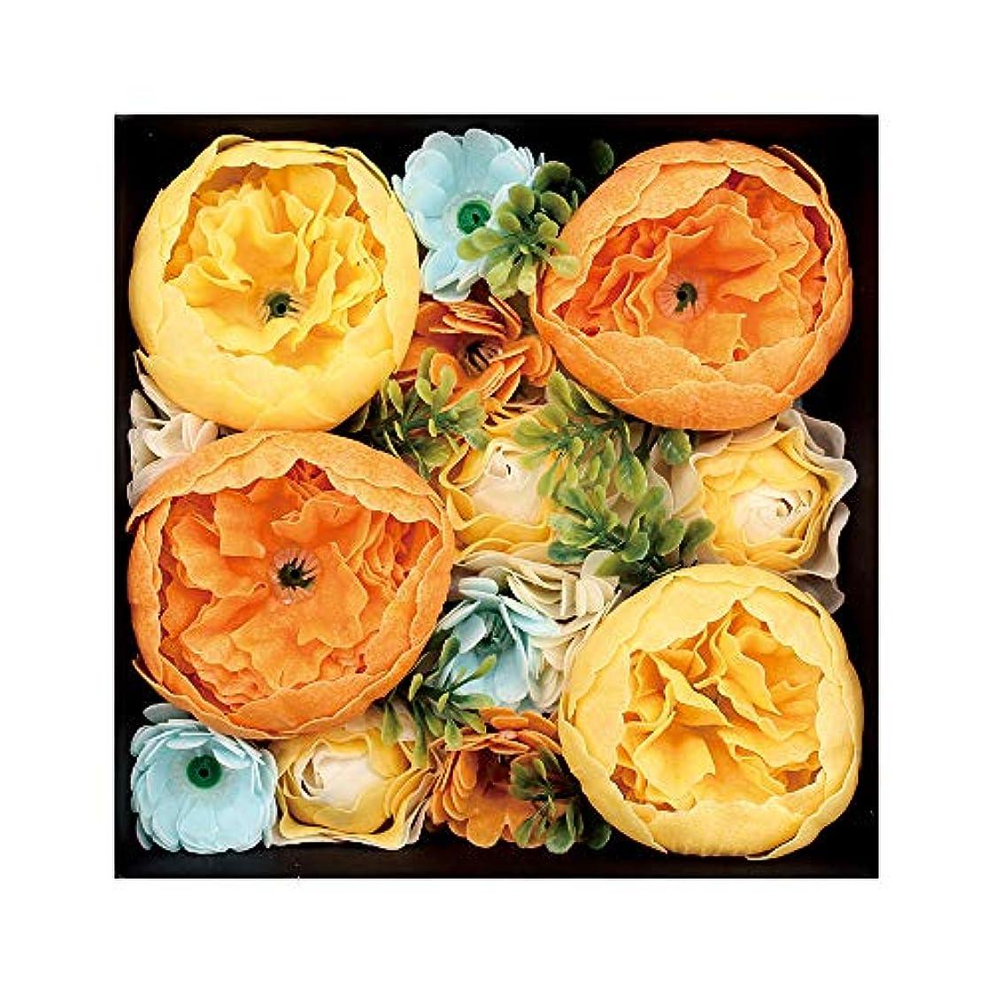 まどろみのあるヒゲ記憶ノルコーポレーション 入浴剤 シャンドフルール バスペタル 130g オレンジの香り シエル OB-EGN-1-4