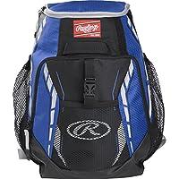 Rawlings Unisex-Adult Rawlings R400 -R Baseball Equipment Bags Backpacks R400-R, Roy, One Size