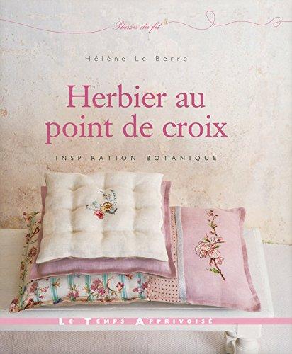 LTA 「HERBIER AU POINT DE CROIX - LTA」 刺しゅう図案集-フランス語