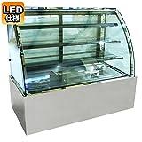 レマコム 対面冷蔵ショーケース LED仕様 4段(中棚3段)幅1500mmタイプ RCS-K150S3L