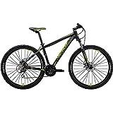 メリダ(MERIDA) マウンテンバイク BIG SEVEN 20-MD マットブラック/グリーン(EK54) BM702438 43cm