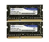 TEAM ノート用メモリ SODIMM 1.35V(低電圧) 1600Mhz PC3L-12800 シリーズ 永久保証 ECOパッケージ (8GBx2枚)
