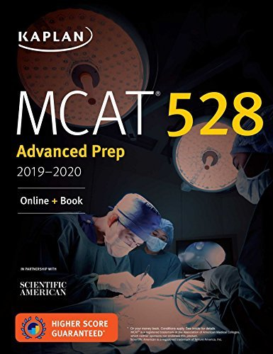 MCAT 528 Advanced Prep 2019-2020: Online + Book (Kaplan Test Prep) (English Edition)