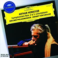 Honegger: Symphony No. 2 for String Orchestra and Trumpet; Symphony No. 3 Liturgique / Stravinsky: Concerto in D for String Orchestra (1995-07-14)