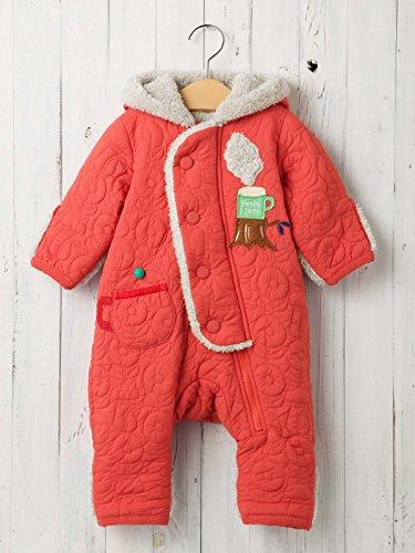 Petit jam プチジャム ベビー teatime ジャンプ スーツ 赤ちゃん ベビー服 防寒 男の子 女の子 アウター