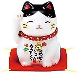 彩絵福招き猫(ぶち) AM-Y7534