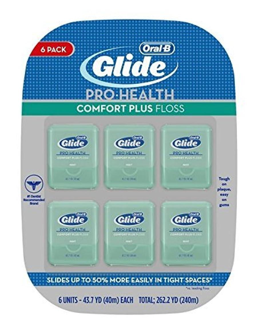 抜け目がない異常失効Oral-B Glide - Deep Clean Floss: デンタルフロス (40m) X 6units; Total 240m 【並行輸入品】