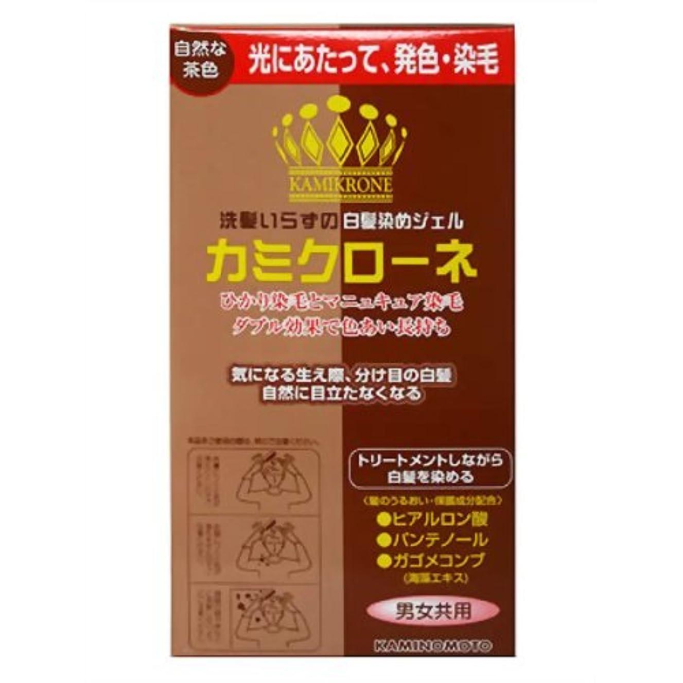 狂気硫黄影響する加美乃素 カミクローネ 自然な茶色 80ml