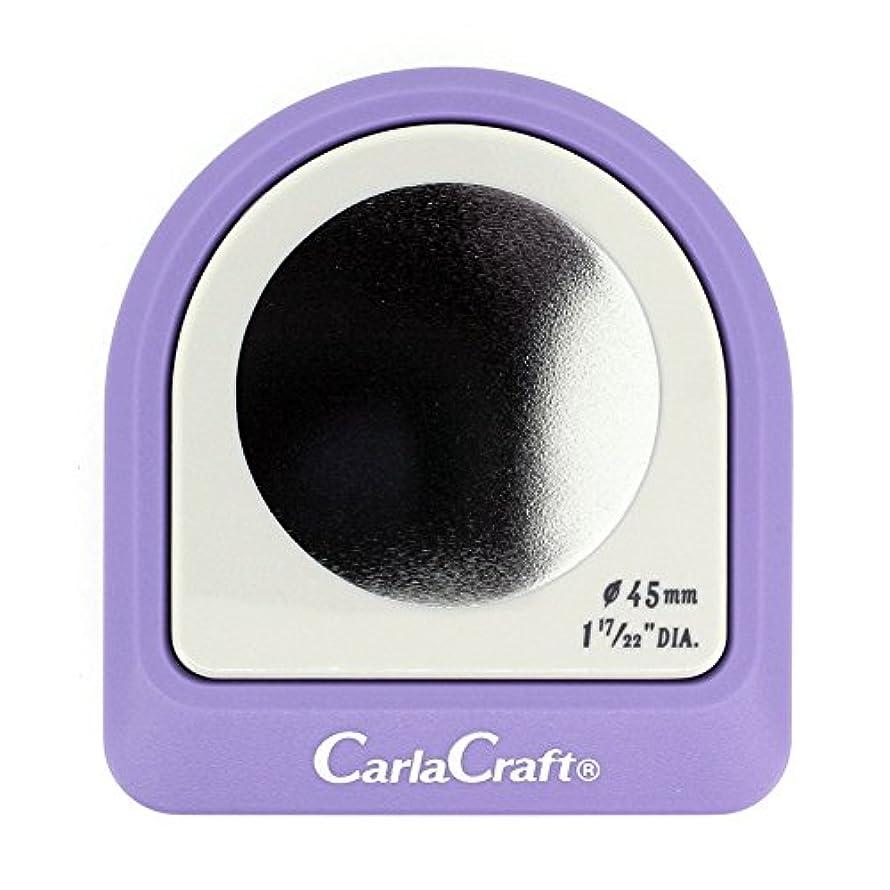 半円件名発音カール事務器 クラフトパンチ メガジャンボ サークル 45mm CN45003