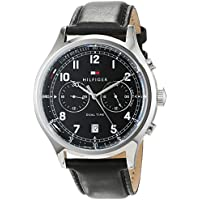Tommy Hilfiger Men 1791388 Year-Round Analog Quartz Black Watch