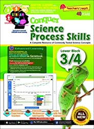 Conquer Science Process Skills Lower Block 3/4 + GenieBook