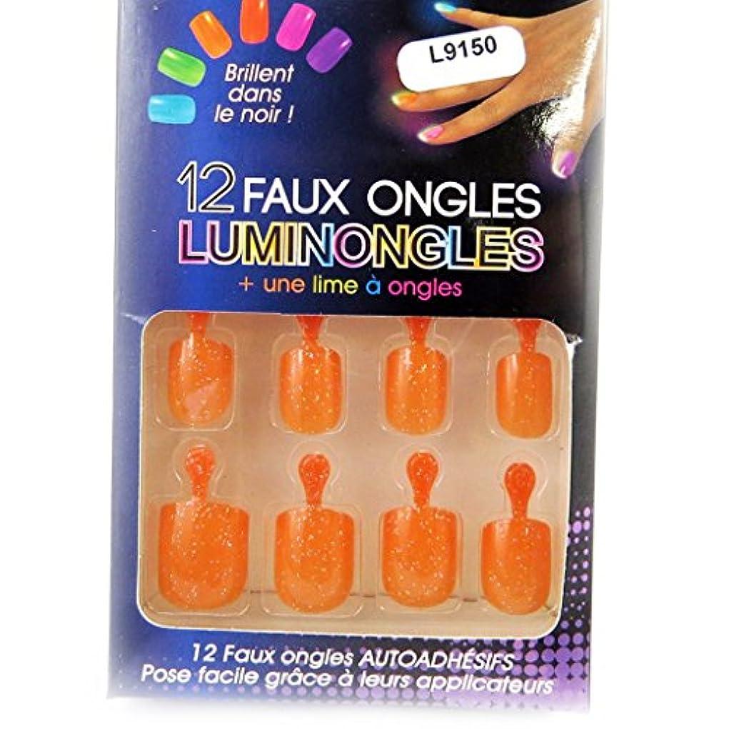 十分ビート凶暴な[リリーの宝 (Les Tresors De Lily)] (Luminongles コレクション) [L9150] アクリルスカルプチュア オレンジ