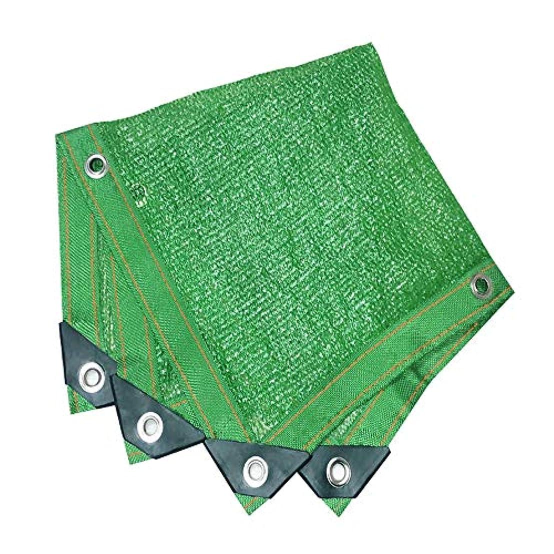 強要読み書きのできない有害屋外オックスフォードシェードネット シェードネット、日除け、日焼け止めメッシュ、キャノピーテント生地タープセイル、UV耐性保護に適してプライバシー、複数のサイズ、緑 (Size : 10*10M)