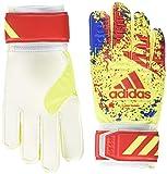 adidas(アディダス) サッカー キーパーグローブ クラシック トレーニング ソーラーイエロー/アクティブレッドS19/フットボールブルー(DT8746) 4 FTT25