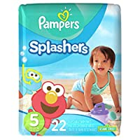 Pampers Splashers Swim Diapers, Size 5, 22 ct