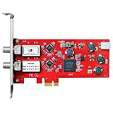 TBS 6902デュアルSatellite HD TVチューナーカードロープロファイルPCIe DVB - s2