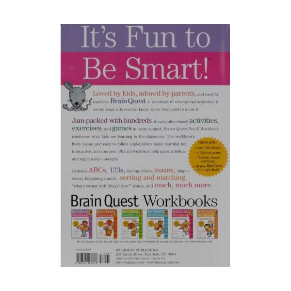 Brain Quest Workbook Pre-Kの紹介画像2