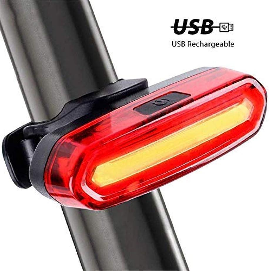 キロメートル配列曲バイクのテールライト防水乗馬の後部ライトは Usb の充電可能であるマウンテンバイクのヘッドライトを循環するライトテールランプ自転車ライト