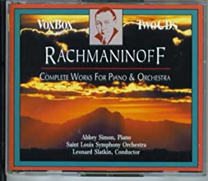 Rachmaninoff: The Complete Works For Piano & Orchestra