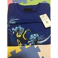 タイムセール ジョジョの奇妙な冒険 ULTRA-VIOLENCE Tシャツ バオー来訪者 BAOH タグ付き ブルー Sサイズ