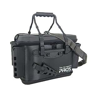 プロックス EVAタックルバッカン ロッドホルダー付き(ブラックファスナー) 40cm PX96640RHK