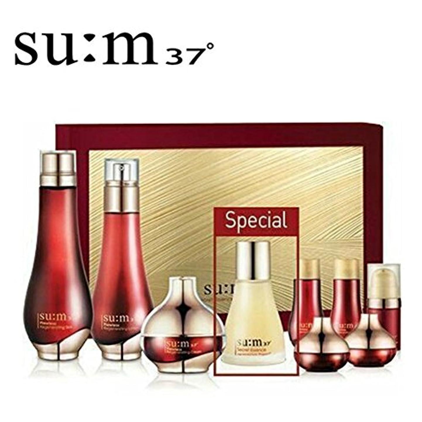 以降開いた本当のことを言うと[su:m37/スム37°] SUM37 Flowless Special Set/ sum37 スム37? フローレス 3種 企画セット +[Sample Gift](海外直送品)