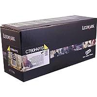 Lexmark政府c780/ c782/ x782e高YieldイエローReturnプログラムトナー10000Yield実用的新しい