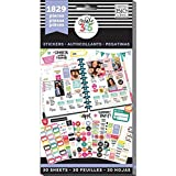 me & my BIG ideas Planner Basics Sticker Value Pack - The Happy Planner Scrapbooking Supplies - Multi-Color & Gold Foil - Gre