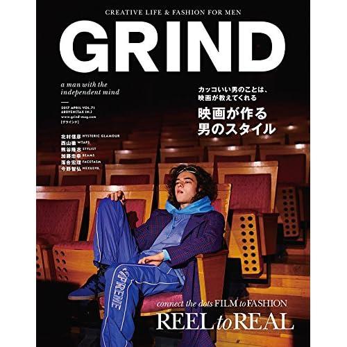 GRIND(グラインド) 2017年 04 月号 [雑誌] (REEL to REAL 映画が作る男のスタイル)