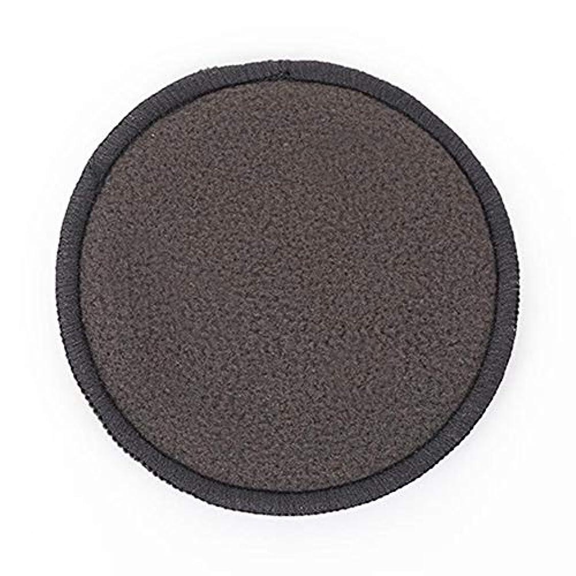 四面体備品ポルティコメイク落としパッド 吸水性 通気性 吸収性 健康 耐久性 顔皮膚 化粧除去 黒 12個
