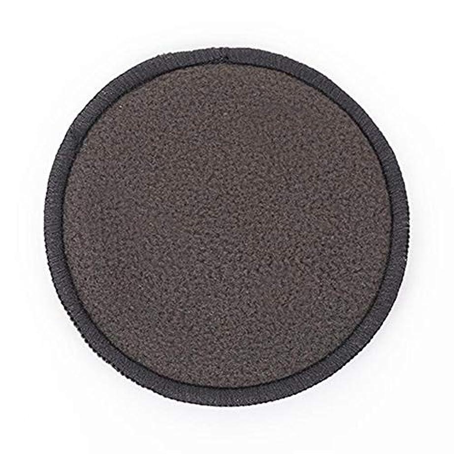 チャップ電池住人メイク落としパッド 吸水性 通気性 吸収性 健康 耐久性 顔皮膚 化粧除去 黒 12個