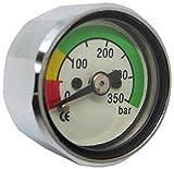 スキューバダイビング ポニーボトル 350 BAR 圧力計