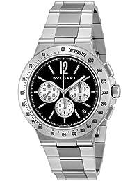 [ブルガリ]BVLGARI 腕時計 ディアゴノタキメトリック ブラック文字盤 自動巻き DG41BSSDCHTA メンズ 【並行輸入品】
